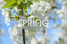 50 spring  images - photo pack by velychko.ua on @creativemarket