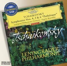 TCHAIKOVSKY Symphonien 4,5,6 - Mravinsky - Deutsche Grammophon
