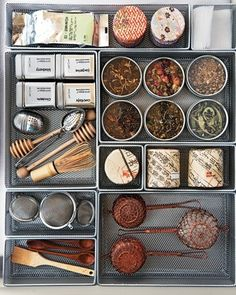 Tea supplies