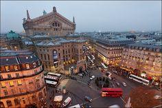 Arrière de l'Opéra Garnier - Bd Haussmann, Paris, 9e