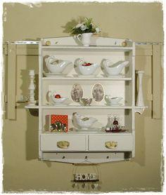 Vintage Regale - Wandregal, Schubkastenregal, Vintage, Shabby - ein Designerstück von Ansolece bei DaWanda