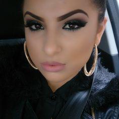 Make up & brows.