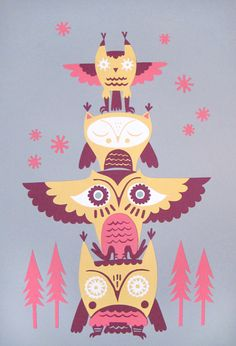 'Owl Totem' by the Harley & Boss Collective (Andrea Kang and Nathan Jurevicius collaboration)