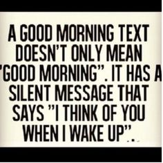 A Good Morning Text Pictures, Photos, and Images for Facebook, Tumblr, Pinterest, and Twitter