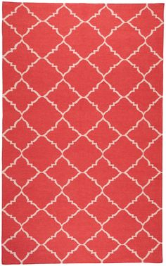 love this with grey & navy!  RugStudio presents Surya Frontier FT-41 Flat-Woven Area Rug