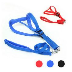 Wholesale Pet Harness Foam Adjustable Safety Control Restraint Puppy Dog Harness Soft Walk Vest Large Dog Blue Red Black