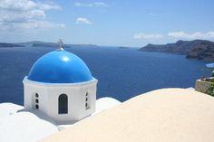Santorini, Greece - September 2013