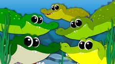 Hey kids! Have you little toddlers met the five crocodiles? Well kids these crocodiles in a super fun mood today! They have been having a lot of fun by jumping here and there! Watch the video little toddlers and join your friends in their fun filled adventures of the day today! #kids #babies #toddlers #kindergarten #preschool #parenting #nurseryrhymes #kidssongs #babysongs