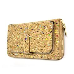 www.havspring.no Clutch, Phone Wallet, Bow Ties, Wallets For Women, Cork, Zip Around Wallet, Colorful, Projects, Baggers