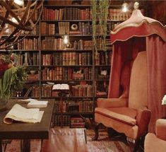 Eye For Design: Decorating Home Libraries