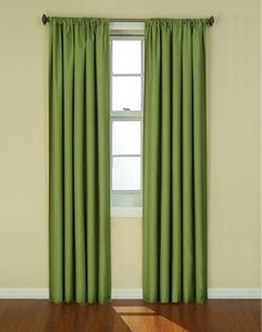 Blackout Curtain - (Green)