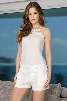CW White Fashion, Girl Fashion, Fashion Outfits, Womens Fashion, Fashion Design, Modelos Fashion, Summer Outfits, Summer Dresses, Chor