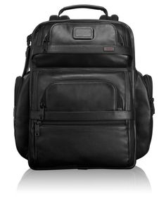 7a981a52e TUMI T-Pass® Business Class Leather Brief Pack® - Alpha 2 - Tumi United  States - Black