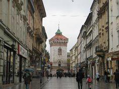 Krakow, Poland: FLORIANSKA GATE