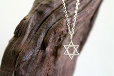 WHISPERS STAR OF DAVID        LUMO jewelry   shoplumo.com  LUMO is a handcrafted jewelry line designed and hand-made by California based fashion blogger Lucia Mouet. LUMO's style is modern and versatile, inspire...