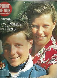 + Point de vue N°2242 Haakon et martha Louise de Norvege Jeunes Heritiers in Livres, BD, revues | eBay