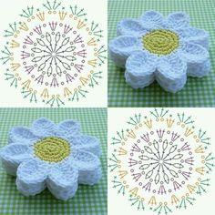Lindas #flores #flowers  en #crochet con #patron #pattern #instacrochet #crochetaddict #crochetlove #crochettutorial #freepattern www.telaresymanualidades.com  Facebook: T & M  Telares y Manualidades       ✌        #colombia #bogota #bogotadc  #cali #cartagena #cucuta #barranquilla #armenia #guajira #monteria #manizales #pereira #valledupar #villavicencio #tunja #medellin #bucaramanga #sanandres #telaresymanualidades