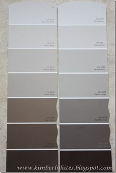 Fifty Shades of GREIGE ???: Interior Paint Choices Revealed {And An Update With Good News!} A Must Read If You Like France