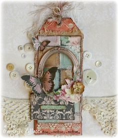 Imagination Tag by Gabrielle Pollacco - Scrapbook.com