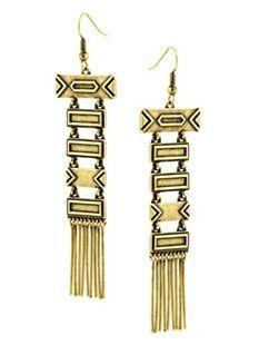 Gorgeous totem pole earrings