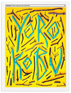 Yorokobu Cover - by Pau Bonet.