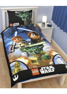 Lego Star Wars, Boys Bedding - http://www.childrens-rooms.co.uk/lego-star-wars-boys-bedding.html #legostarwars #boysbedding #starwars