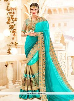 Tiptop Shaded Saree For Wedding