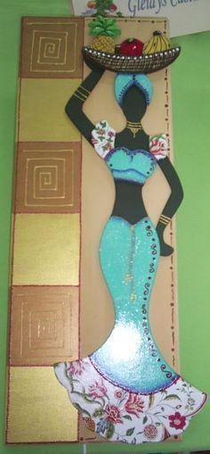 Resultado de imagen para plantillas de mulatas Black Women Art, Black Art, Decoupage, African Quilts, African Paintings, African Theme, Art Africain, Africa Art, African American Art