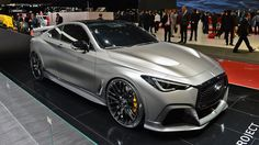Throughout the early stages of the Jaguar XK-E, the lorry was supposedly planned to be marketed as a grand tourer. Infiniti Q50, Nissan Infiniti, Luxury Hybrid Cars, Luxury Cars, New Sports Cars, Super Sport Cars, Bugatti, Expensive Sports Cars, Ferrari