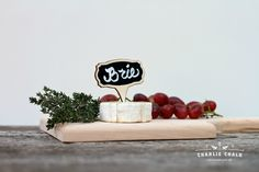 Cheese Markers that will set your event apart from the rest!