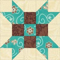 Sister Star Quilt Block | Farmer's Daughter