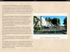 Travel guide to Provence, France, Riviera, Nice