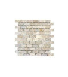 This MS International Chiaro Brick Tumbled Travertine Mesh-Mounted Mosaic Tile is perfect for today's casual lifestyle. Bath Tiles, Mosaic Tiles, Dream Home 2016, Kitchen Trends, Kitchen Ideas, Kitchen Designs, Thing 1, Kitchen Backsplash, Backsplash Ideas