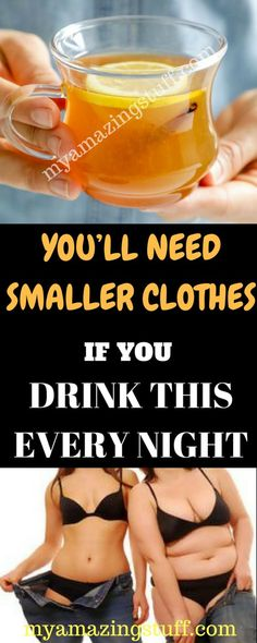 You'll Need Smaller Clothes If You Drink This Every Night - My Amazing Stuff