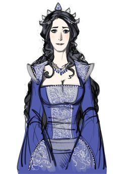 Melian (I love Phobs' Tolkien fan art!)