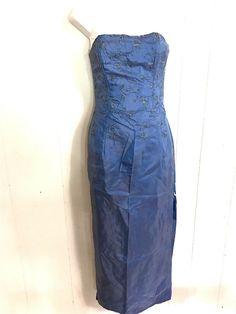 45844f833d JESSICA MCCLINTOCK FOR DILLARDS STRAPLESS EMBROIDERED FORMAL PROM DRESS SZ 3  - dillards dresses  dillardsdresses
