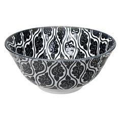 Discover the Tokyo Design Studio Nippon Black Bowl - Cloud at Amara Serveware, Tableware, Kitchenware, Tokyo Design, Black Bowl, Family Set, Design Studio, Teller, Dinnerware