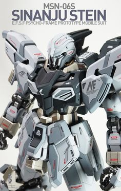 GUNDAM GUY: MG 1/100 Sinanju Stein - Painted Build