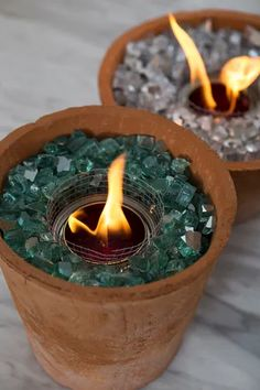 You HAVE To See These DIY, Non-Toxic Table Top Fire Pits! Fire Pit Lighting, Backyard Lighting, Fire Pit Seating, Fire Pit Table, Seating Areas, Porches, Tabletop Fire Bowl, Gazebo, Fire Pit Cooking