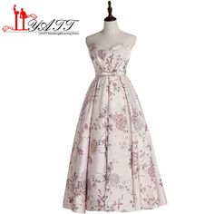 Floral Flowers Pattern Print Prom Dresses