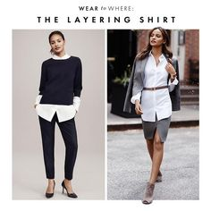 Wear to Where: The Layering Shirt