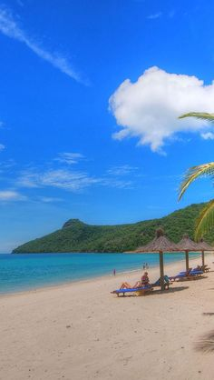 Catseye Bay Beach, Hamilton Island, Cairns, Queensland, Australia, Europe, Geography,
