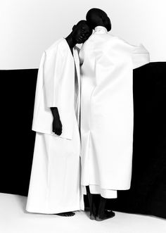 <p>Shot by Paul Jung and styled by Jessica Willis, these images are part of a black-and-white editorial for Suited magazinefeaturing four South Sudanese models, Atong Arjok, Mari Malek, Mari Agory, an
