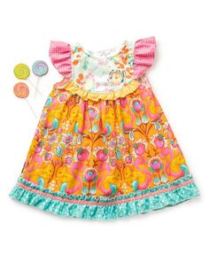 Squirrely Flutter Dress