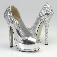 Pink Paradox Ashlee Silver Shoes