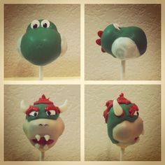 vypassetti cake pops: August 2012 Close up of bowser