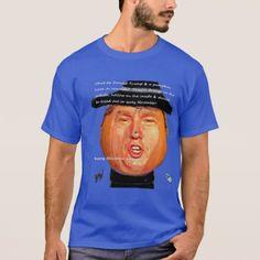Donald Trump Pumpkin Head. T-Shirt - Halloween happyhalloween festival party holiday