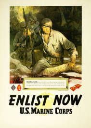 Military Poster / Print: Enlist in a proud... | Pritzker Military Museum & Library | Chicago