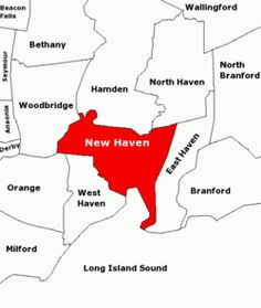Map of #Yale #University in New Haven, Connecticut, USA | Colleges ...
