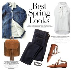 """""""Best spring looks"""" by purpleagony ❤ liked on Polyvore featuring ssongbyssong, J.Crew, H&M, Spring and springfashion"""